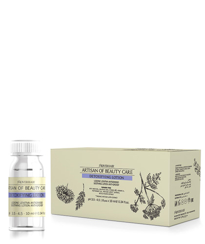 lotion detoxifying anti-greasy artisan